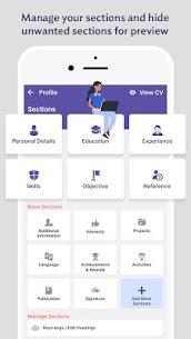 Professional Resume Builder – CV Resume Templates (MOD, Pro) v1.2 4