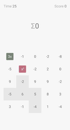 zero sum - numbers puzzle screenshot 2
