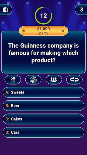 Millionaire 2020 -  Free Trivia Quiz Offline Game 1.5.2.4 com.submarineapps.mill apkmod.id 1