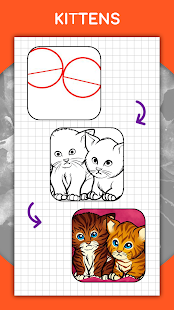 How to draw animals. Step by step drawing lessons 1.5.3 Screenshots 6