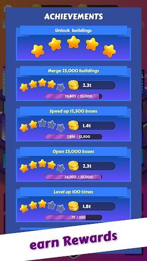 Merge City: idle city building game  screenshots 3
