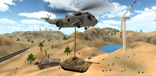 Screenshot of Helicopter Army Simulator