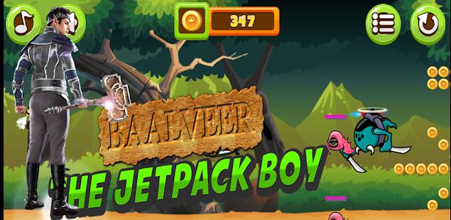 Baalveer game : The Jetpack Boy Action game