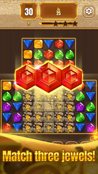 Pharaoh's Gem Blast : Gem & Jewel Quest Game