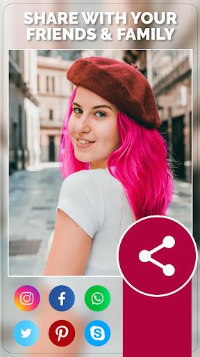 Change Hair And Eye Color apktram screenshots 5