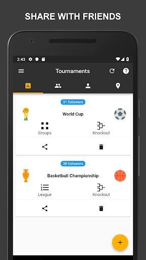 Winner - Tournament Maker App, League Manager 9.9.2 Screenshots 19