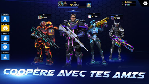 Code Triche ARMAJET: Saison 6 (Astuce) APK MOD screenshots 3
