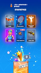Tennis GO : World Tour 3D MOD (Free Rewards) 5