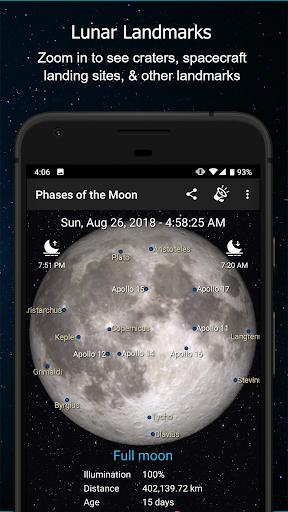 Phases of the Moon Calendar & Wallpaper Pro  screenshots 2