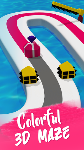 Line Color Game: 3D Adventure  screenshots 1