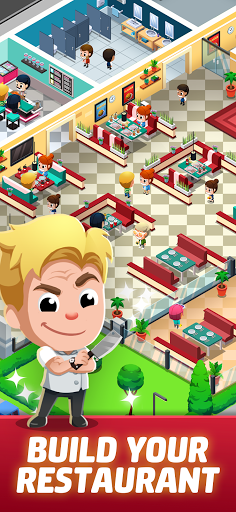 Idle Restaurant Tycoon - Build a restaurant empire apktreat screenshots 1
