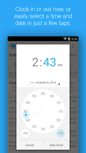 HoursTracker: Time tracking for hourly work Screenshot