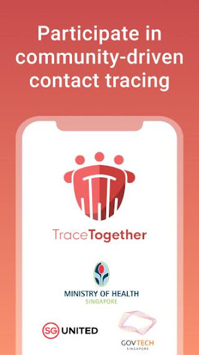 TraceTogether screenshot for Android