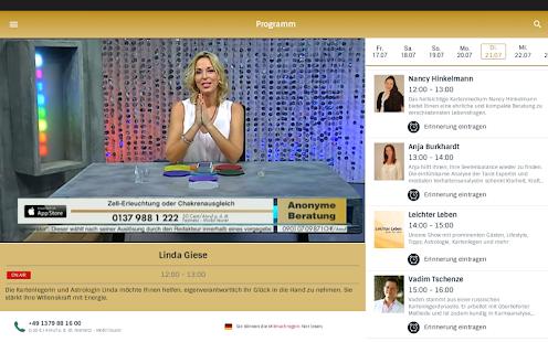 AstroTV - Live Kartenlegen 3.3.1 Screenshots 8