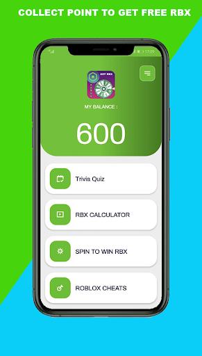 Robux Spin wheel: Free Robux Real & calc Quiz  Screenshots 2