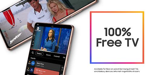 Samsung TV Plus: 100% Free TV.