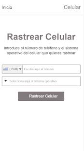 Rastrear Celular por el Numero 1.0 Screenshots 1