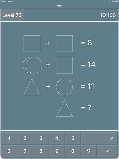 Math Riddles: IQ Test  screenshots 9