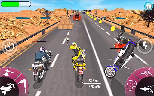 New Bike Attack Race - Bike Tricky Stunt Riding  screenshots 12