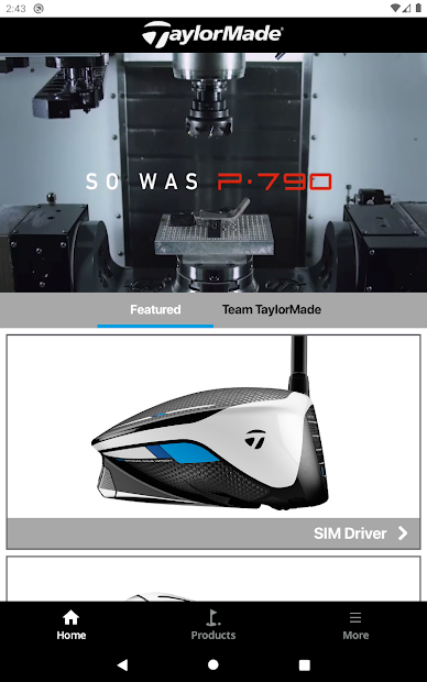 TaylorMade Golf Product Guide screenshot 6