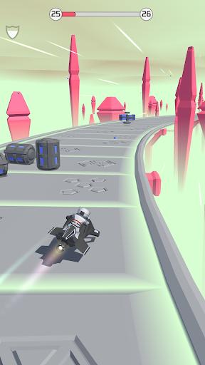 bob's cloud race: casual low poly game screenshot 2