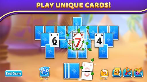 Puzzle Solitaire - Tripeaks Escape with Friends apkpoly screenshots 4