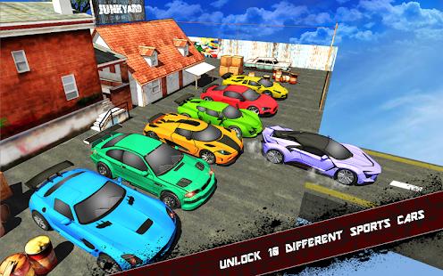 Extreme Jeep Stunts -Mega Ramp-Free Car Games 2021 4.4 Screenshots 11
