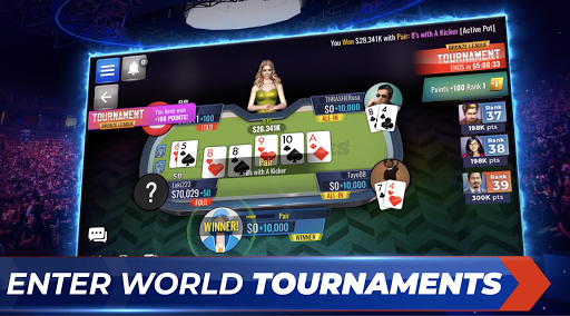 Poker Legends: Free Texas Holdem Poker Tournaments 0.2.95 screenshots 2