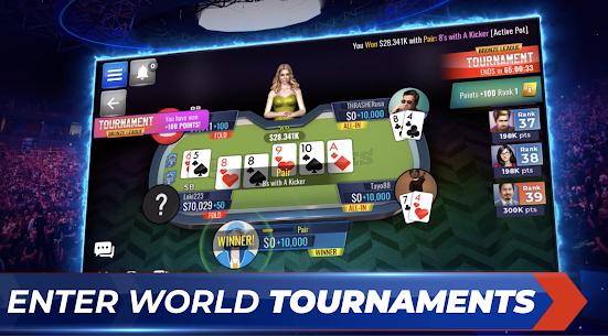 Poker Legends: Free Texas Holdem Poker Tournaments 2