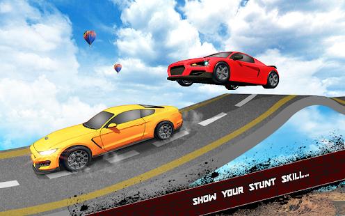 Extreme Jeep Stunts -Mega Ramp-Free Car Games 2021 4.4 Screenshots 6