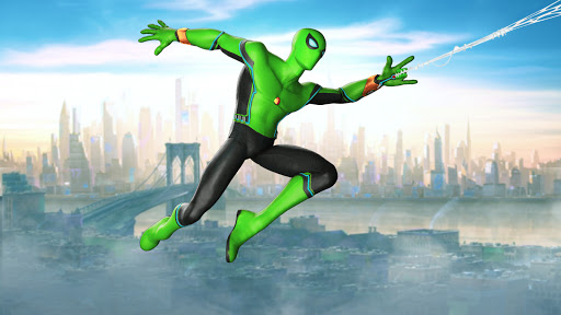 Spider Rope Hero - Gangster Open World City screenshots 3