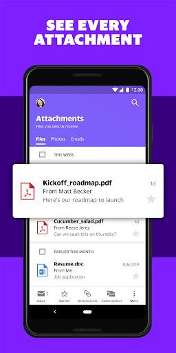 Yahoo Mail Go - Organized Email 6.17.3 screenshots 2