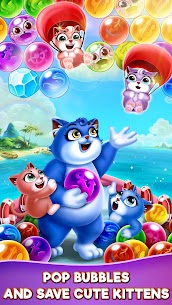 Bubble Shooter – Cat Pop Island Free Puzzle Game 1