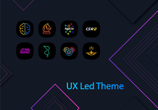 Download APK: UX Led – Icon Pack v3.1.1 [Patched]