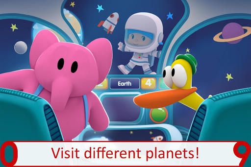 Pocoyo 1, 2, 3 Space Adventure: Discover the Stars  screenshots 2