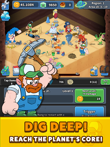Tap Tap Dig 2: Idle Mine Sim 0.4.0 screenshots 18