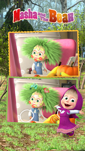 Masha and the Bear - Spot the differences  screenshots 7