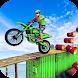 バイクスタントレーシングマスターインポッシブル3Dメガランプ - Androidアプリ