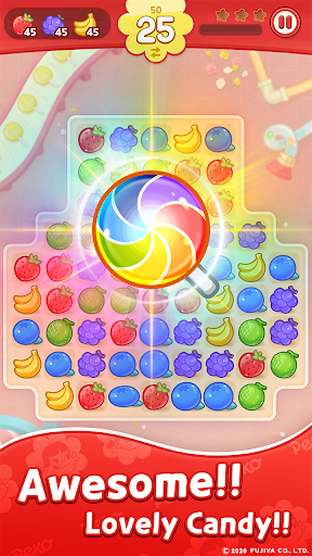 PEKO POP : Match 3 Puzzle 1.2.12 screenshots 1