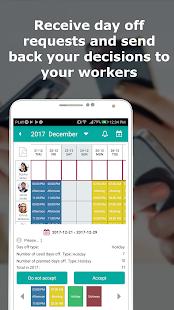 作業時間の追跡、作業スケジュール-ワーカー24