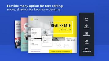 Brochure Maker, Poster Maker, Pamphlet Designer