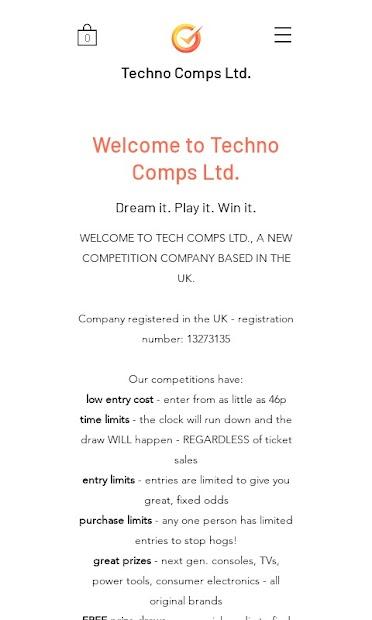 Techno Comps screenshot 1