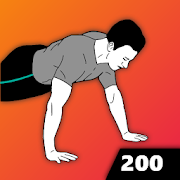 200 Push Ups - Home Workout, Men Fitness