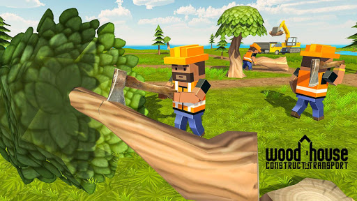 Wood House Construction Simulator 1.1 screenshots 10