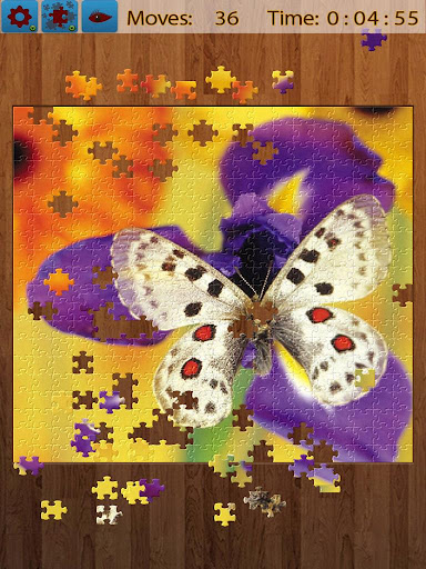 Butterfly Jigsaw Puzzles android2mod screenshots 7