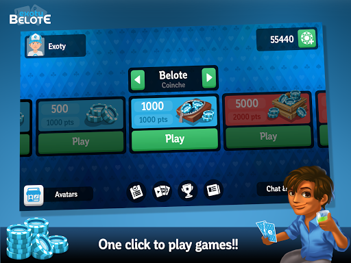 Multiplayer Belote & Coinche 6.9.4 screenshots 9