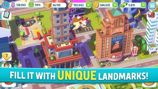 City Mania: Town Building Game apktram screenshots 2