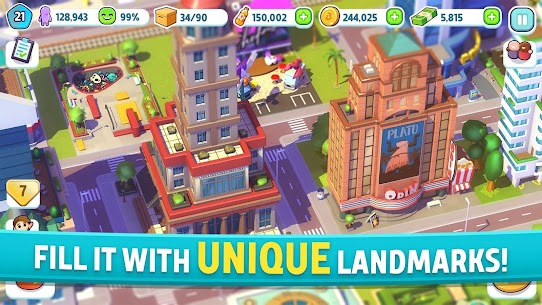 City Mania Town Building Game Mod APK Download 1.9.1a 2