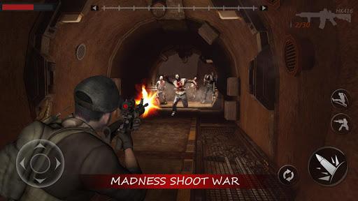 gun rules : warrior battlegrounds fire screenshot 1
