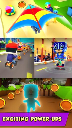 KIDDY RUN - Blocky 3D Running Games & Fun Games 1.04 screenshots 2